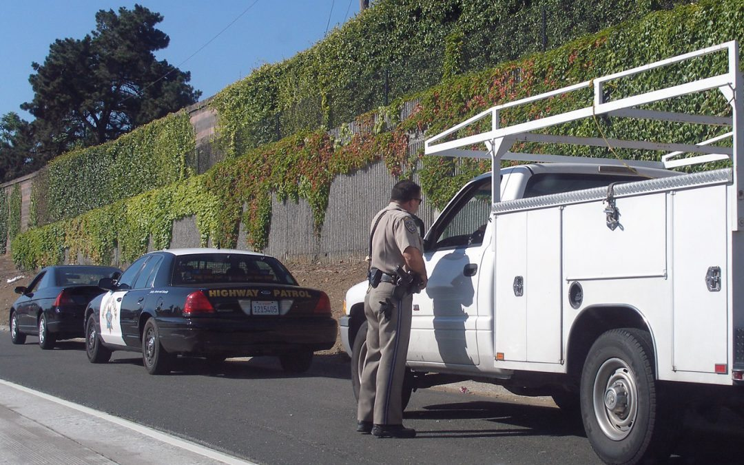traffic ticket in California